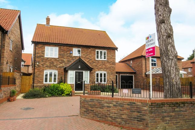 Thumbnail Detached house for sale in Carvers Lane, Attleborough
