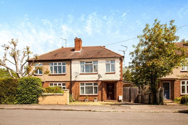 Thumbnail Semi-detached house for sale in Mill End Close, Cherry Hinton, Cambridge