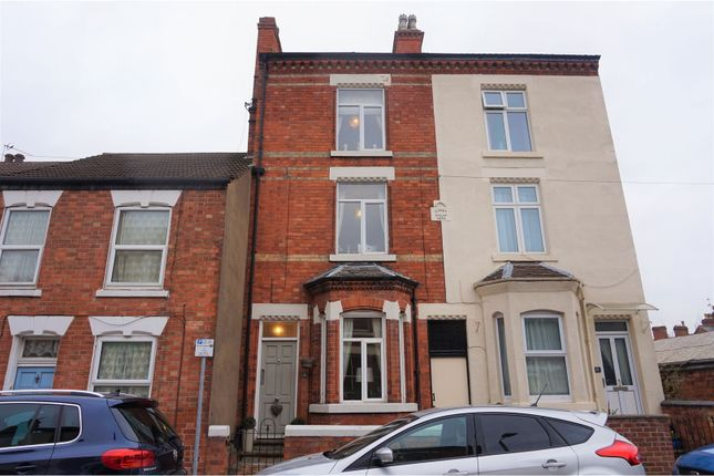 Thumbnail Terraced house for sale in Gladstone Street, Loughborough