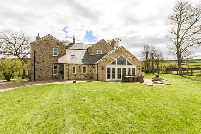 Thumbnail Country house for sale in Heatherlea, Knitsley, Near Lanchester, County Durham