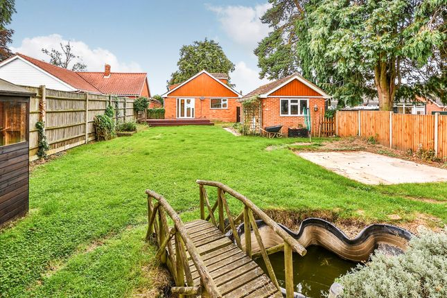 Thumbnail Bungalow for sale in Shipdham Road, Toftwood, Dereham