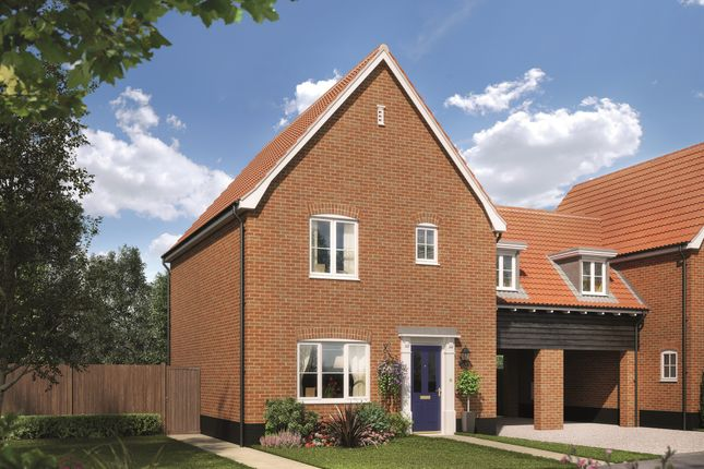 Link-detached house for sale in Fordham Road, Soham, Ely