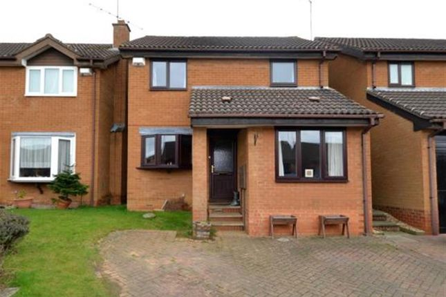 Thumbnail Detached house for sale in Wardlow Close, West Hunsbury, Northampton