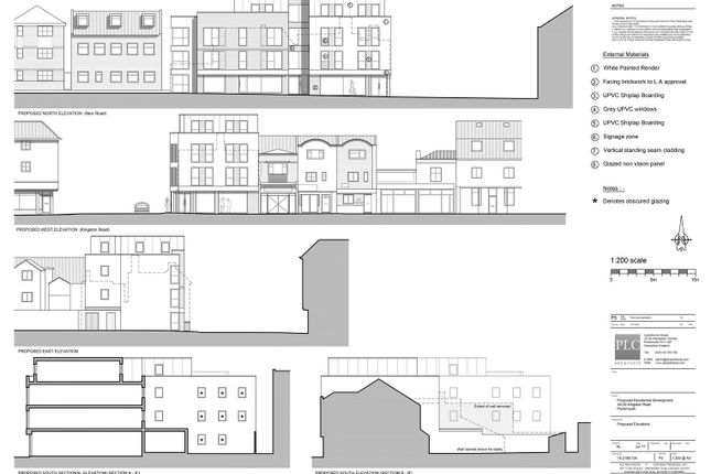 Thumbnail Block of flats for sale in Yasmine Terrace, New Road East, Portsmouth