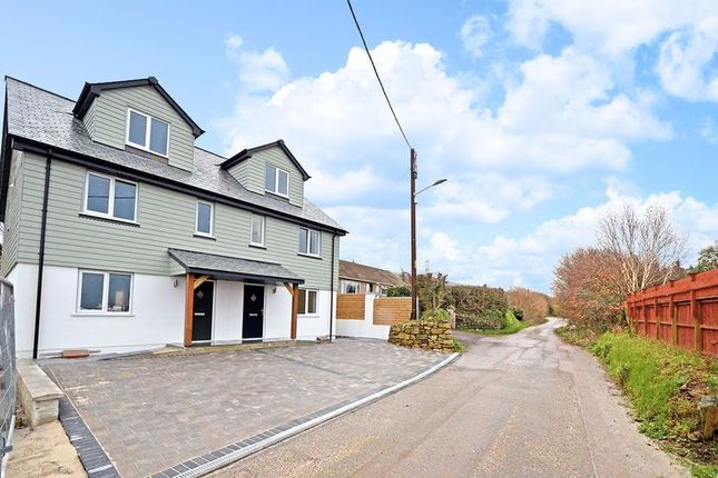 Thumbnail Semi-detached house for sale in My Lords Road, Fraddon, St. Columb