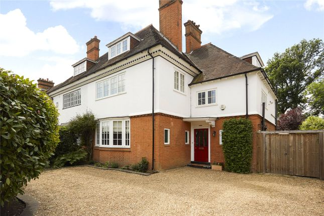 Thumbnail Semi-detached house for sale in West Grove, Hersham, Walton-On-Thames, Surrey