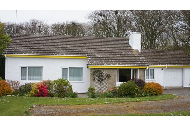 Thumbnail Detached bungalow for sale in Llanfairynghornwy, Holyhead