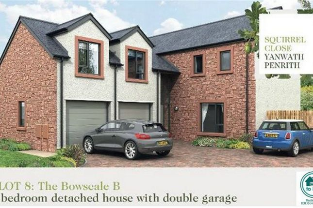Thumbnail Detached house for sale in Plot 8 Squirrel Close, Yanwath, Penrith