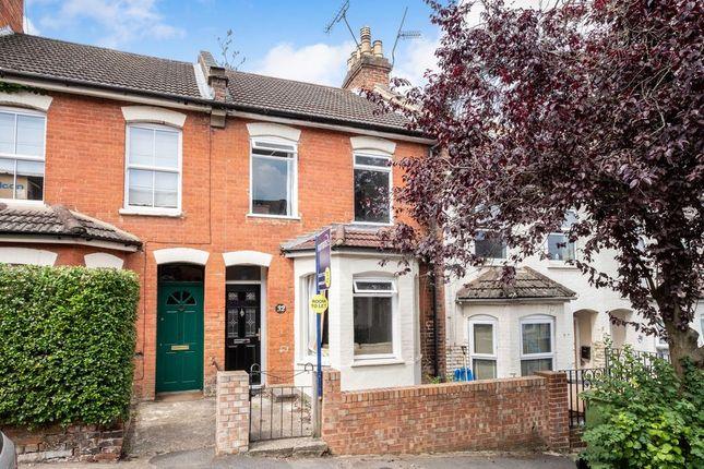 Thumbnail Terraced house to rent in Perowne Street, Aldershot