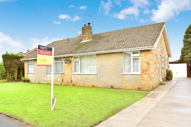 Thumbnail Semi-detached bungalow for sale in Beckwith Avenue, Harrogate