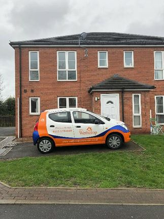Thumbnail Town house to rent in Crofters Court, Cow Lane, Havercroft