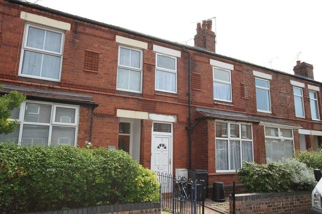 Thumbnail Terraced house to rent in Clare Avenue, Hoole, Chester