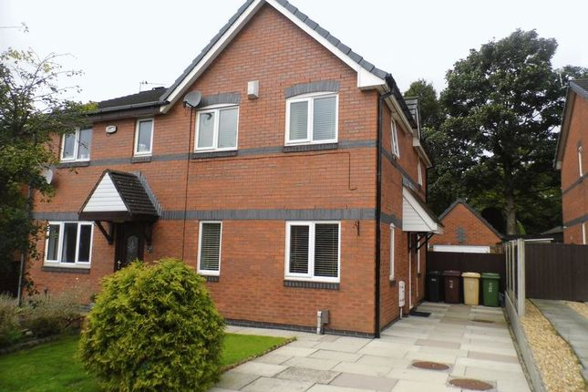Thumbnail Semi-detached house for sale in Kerans Drive, Westhoughton, Bolton