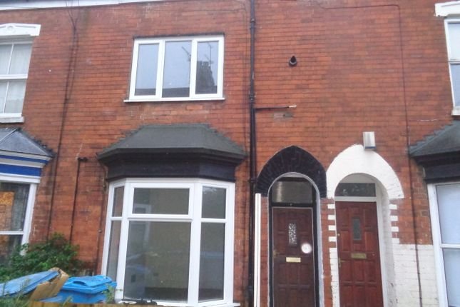Thumbnail Terraced house to rent in Albert Avenue, Mayfield Street, Hull