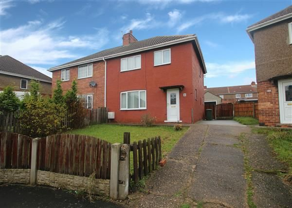 Thumbnail Semi-detached house for sale in Graham Avenue, Upton, Pontefract
