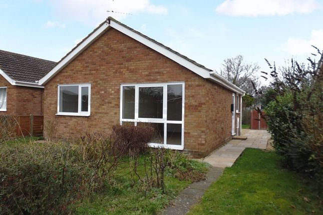 Thumbnail Detached bungalow to rent in Alconbury Close, Lincoln