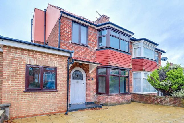 Thumbnail Semi-detached house for sale in Whitby Gardens, London
