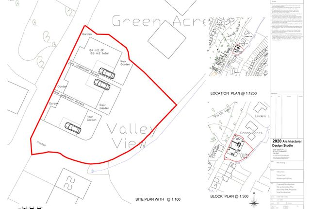 Thumbnail Land for sale in Trenant Vale, Wadebridge