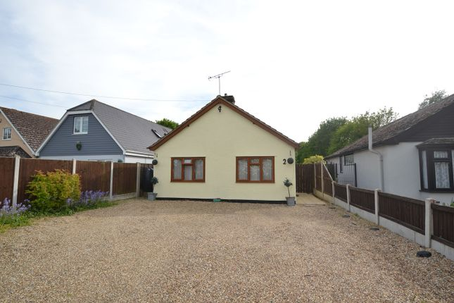 Thumbnail Detached bungalow for sale in Langham Road, Boxted, Colchester