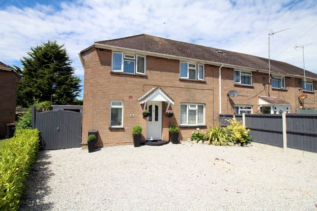 Thumbnail End terrace house for sale in Pinewood Close, Upton, Poole