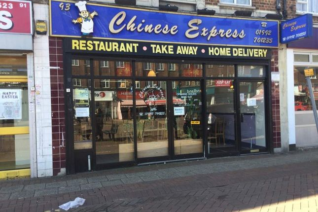 Thumbnail Restaurant/cafe for sale in 93 High Street, Waltham Cross