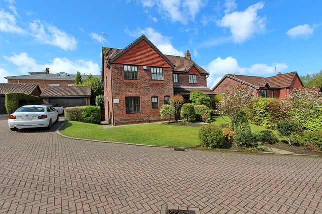 Thumbnail Detached house for sale in Leyburn Close, Whitefield, Manchester