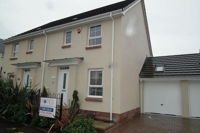 Thumbnail Semi-detached house for sale in Canyke Meadow, Bodmin