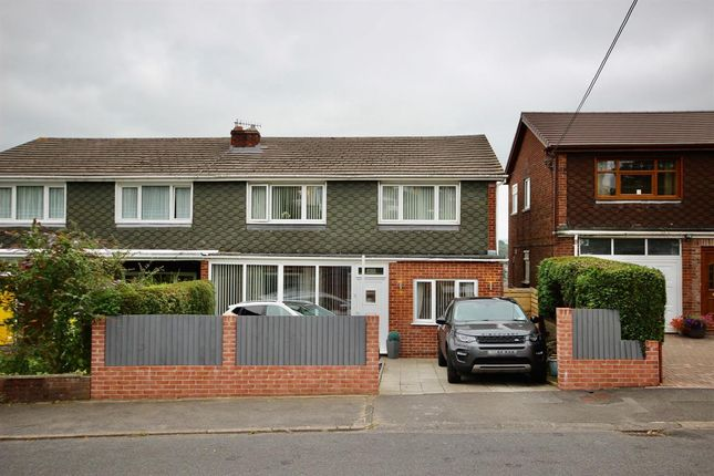 Thumbnail Semi-detached house for sale in Hillside Park, Gilfach, Bargoed