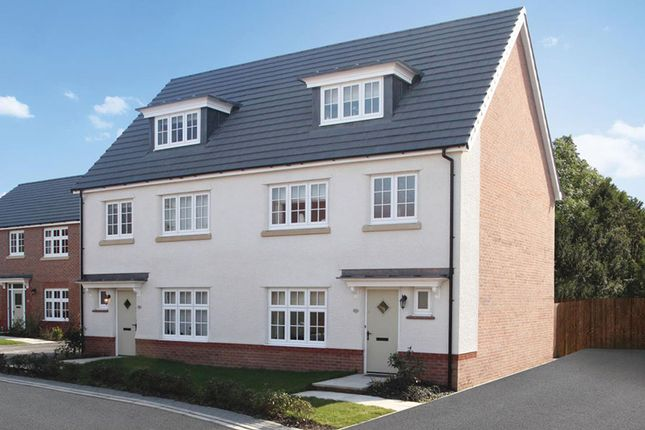 Thumbnail Semi-detached house for sale in Stanbury Meadows, Camomile Way, Newton Abbot, Devon