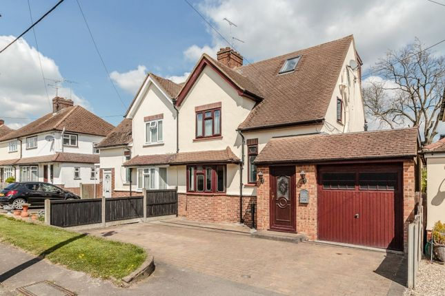 Thumbnail Semi-detached house for sale in Mayfield Road, Writtle, Chelmsford, Essex