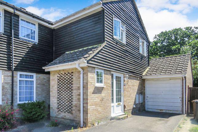Thumbnail Semi-detached house for sale in Emmett Road, Rownhams, Southampton