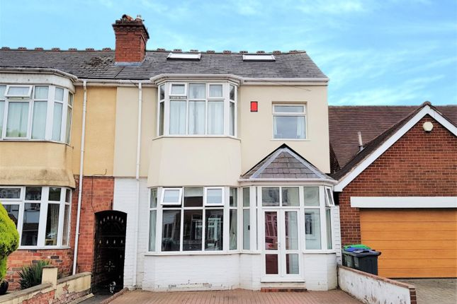 Thumbnail End terrace house for sale in Devon Road, Smethwick, West Midlands