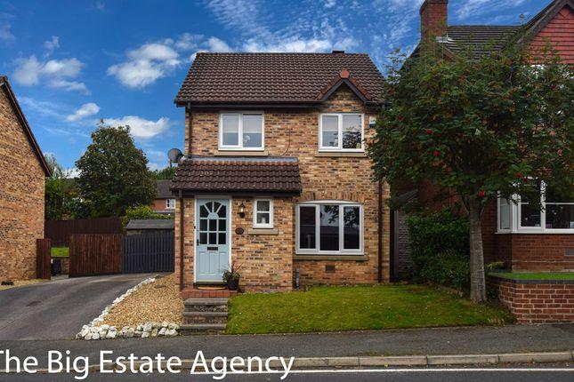 Thumbnail Detached house for sale in Hillsdown Drive, Connah's Quay, Deeside