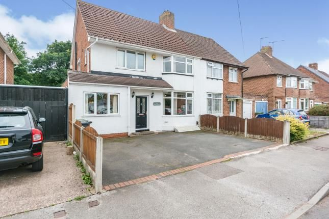 Thumbnail Semi-detached house for sale in Summerfield Road, Solihull, West Midlands