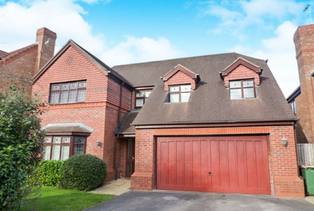 Thumbnail Detached house for sale in Monarch Drive, Northwich