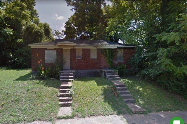 Thumbnail Detached house for sale in 1498 Miller St, Memphis, Tn 38106, Usa