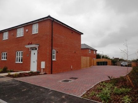 Thumbnail Semi-detached house to rent in The Hedgerows, Nuneaton