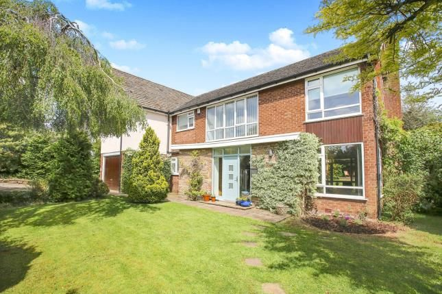 Thumbnail Detached house for sale in Brocklehurst Drive, Prestbury, Macclesfield, Cheshire