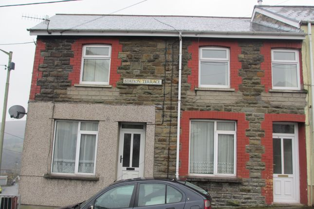 Thumbnail Flat to rent in Station Terrace, Bedlinog, Treharris