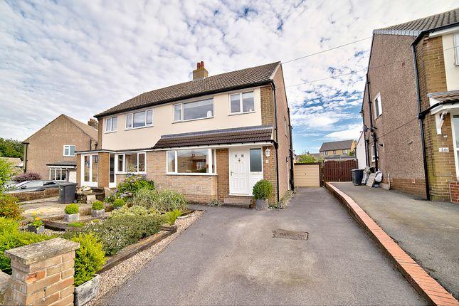 Thumbnail Semi-detached house for sale in Abbey Drive, Shepley, Huddersfield