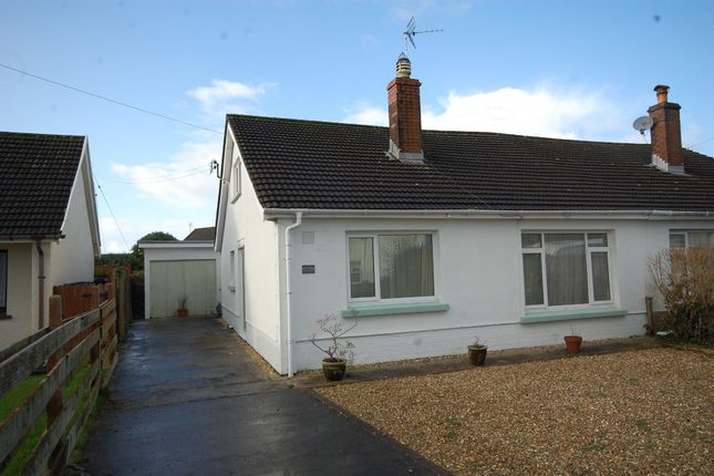Thumbnail Semi-detached bungalow to rent in Valley Road, Saundersfoot