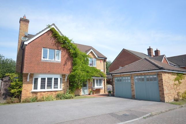 Thumbnail Detached house for sale in Huron Drive, Liphook
