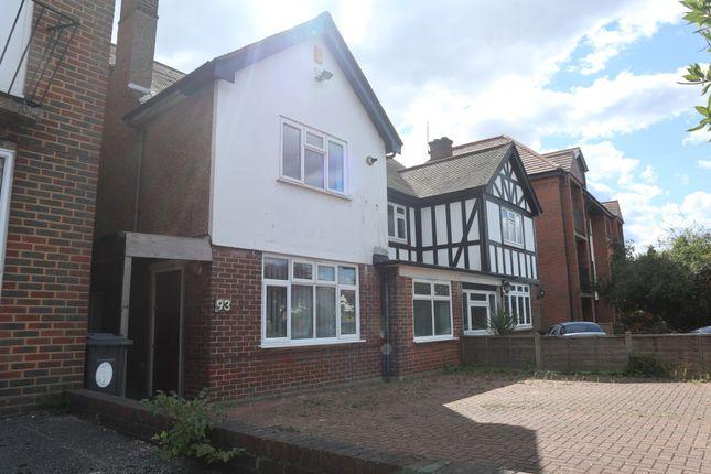 Thumbnail Semi-detached house to rent in The Ridgeway, London