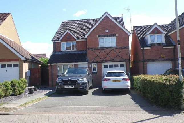 Thumbnail Detached house to rent in Sherard Way, Thorpe Astley, Braunstone, Leicester
