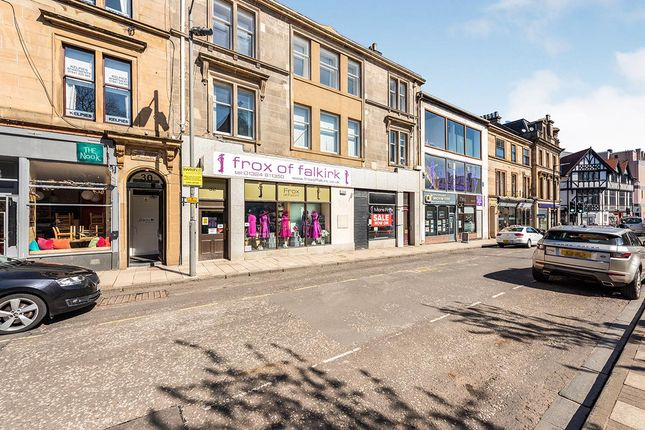 Thumbnail Flat for sale in Newmarket Street, Falkirk, Stirlingshire