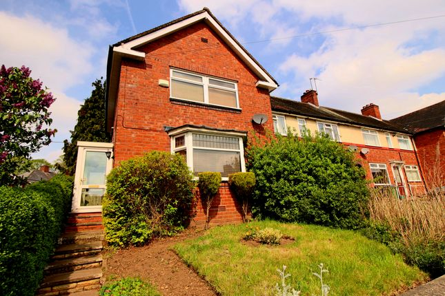 Thumbnail End terrace house for sale in Old Chapel Road, Bearwood, Smethwick
