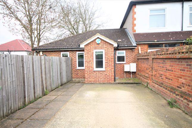 Thumbnail Detached bungalow to rent in Chapel Farm Road, London