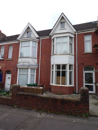 Thumbnail Terraced house to rent in Mirador Crescent, Swansea