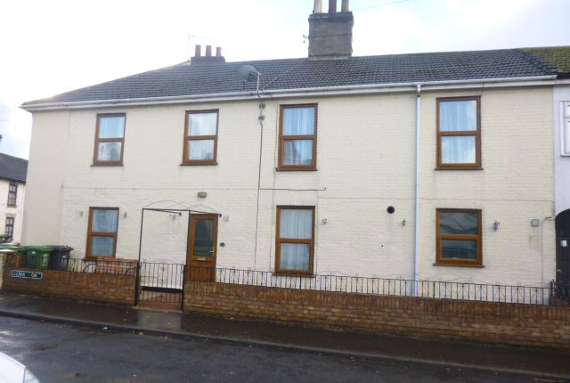 Thumbnail Terraced house to rent in Alma Road, Great Yarmouth