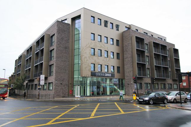 Thumbnail Flat for sale in Central Cross Apartments, 2 South End, Croydon